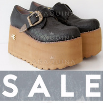 Zapatos Plataforma Mujer - Zueco Alto Moda - Araquina