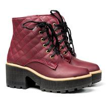 Borcego Borceguito Mujer Ecologico Zapatos Almacen De Cueros
