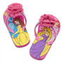 Ojotas Sandalias Nena Princesa Rapunzel Bella Disney Glitter