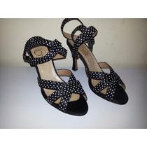 Zapatos Estilo Pin Up Usados N°38
