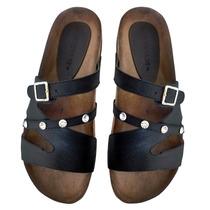 Sandalias Zapatos Mujer Verano Birk Chatitas Cuero