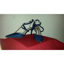 Zapatos Importados Stilettos Azules Elegantes