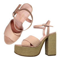 Sandalias Zapatos Mujer Fiesta Noche Plataforma Altas