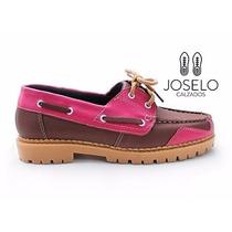 Zapato Mocasin Hombre - Mujer Primavera Verano Cuero