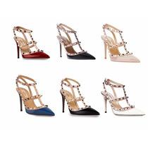 Zapatos Importados Estilo Rockstud Valentino