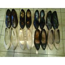 Zapatos Mujer De Cuero , De Vestir Nro. 38 Oportunidad!