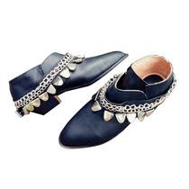 Clippate Botas Zapatos Texanas Bajas Cortas En Cuero Mujer