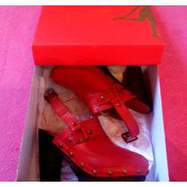 Zapatos Saverio Di Ricci Zuecos Nuevos - Liquidación Tota!!