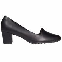 Zapato Clasico Mujer Piccadilly Comodo Sintetico Negro