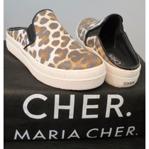 Maria Cher Panchas Animal Print Talle38 Imperdibles