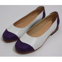 Zapatos Mujer Cuero Chatitas De Oz Zapatos De Autor.