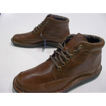 Botita Dunlop Cuero Kent Hombre Original Lavalledeportes