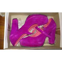 Zapatos Fiesta Rosa