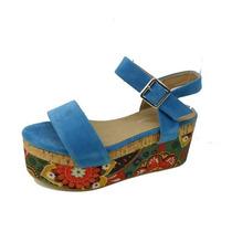 Sandalias C/ Plataforma Zapatos Cruzado - Rimini Ultima Moda