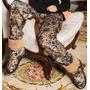 Botas Pantuflas Con Corderito De Animal Print Promesse