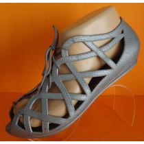 Ojotas Zapatos De Goma Nro 37/38 Color Gris