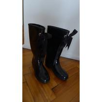 Botas De Lluvia (muy Poco Uso) Impecables!!! $ 350 !!!