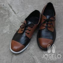 Zapato De Diseño - Cuero- Combinado-hombre_ Joselo Calzados