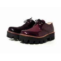 Zapatos Nuevos De Fábrica.. Coleccion 2016. Charol Ecológico