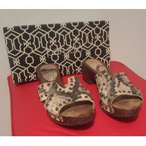 Liquido Zapatos Zuecos Paruolo Cuero T38 Excelentes Estado!!