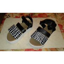 Sandalias N° 31 Mini Viamo Con Plataforma- Espectacular-