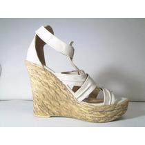 33 Designs - Art.911 - Sandalia Cuero Ecologico Taco Chino