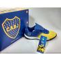 Boca Juniors Original Botines Talle 35 A 39 Licencia Oficial