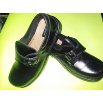 Zapato Con Hebilla De Varon