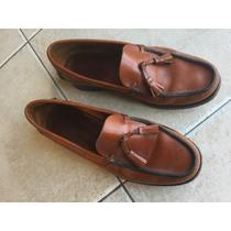 Zapatos Mocasin Febo Color Suela 41 Impecable.