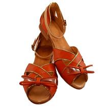 Clippate Sandalias Zapatos Verano Moño Boca De Pez Cuero