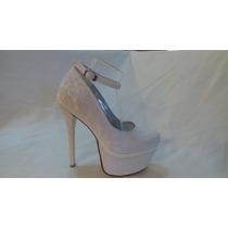 Zapato Vestir C/ Pulsera Y Encaje