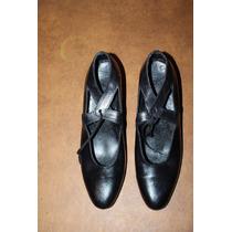 Zapatos Españoles De Baile Zapateo, Flamenco Con Chapitas.