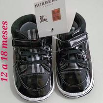 Únicos!!! Zapatitos Burberry Baby Importados!!!