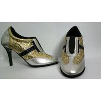 Zapatillas De Tango Nuevas 35 Cromo