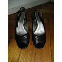 Zapatos Estilo Sandalias Cuero Tahari Im`portados Nro 36