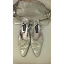 Zapatos Tropea 37 Con Cartera Muy Buen Estado!
