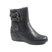 Botas Mujer Invierno Zapatos Chocolate Gondola Hebillas 2925
