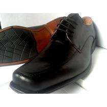 Calzado Fino De Cuero Con Cordones -fabricantes-
