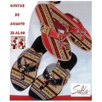 Ojotas De Aguayo Sandalias X12p - Temporada Primavera Verano