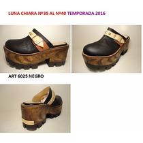 Zuecos Luna Chiara Temporada 2016 Outlet Liquidacion 50%