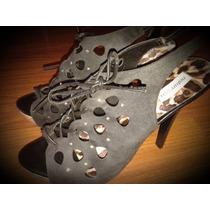 Zapatos De Taco Alto Via Uno