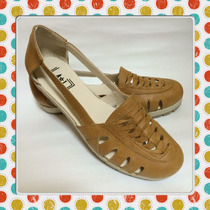 Calzado Femenino Chatitas Balerinas Cuero Loafers Verano