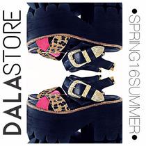 Sandalias Zapatos Con Plataforma Verano By Dala_store