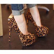 Stilettos Leopardo