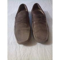 Mocasines Zapatos De Gamuza Punta Fina Bajos