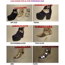 Sandalia Luna Chiara Temporada 2016 Outlet Liqiudacion Off