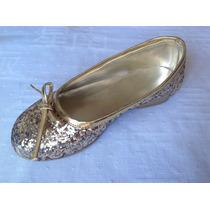 Chatitas Ballerinas De Glitter Para Nenas De Diseño