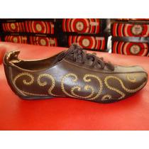 Zapatillas Cuero Corre Lola $$ 499 Solo Talle 37