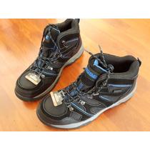 Zapatos Borcegos Punta Acero Talle 42.