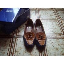 Zapatos Nuevos Azul Y Camel Ultima Moda Rebajados !!!